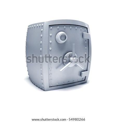 Safe. - stock photo