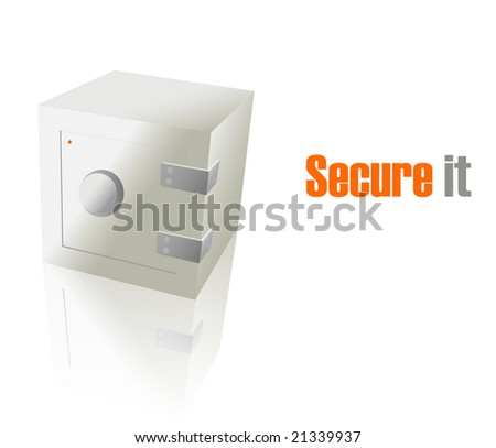 "Safe and slogan ""Secure It""."