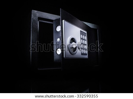 Safe box - stock photo