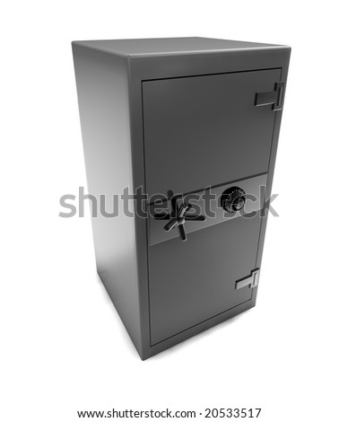 safe case - stock photo