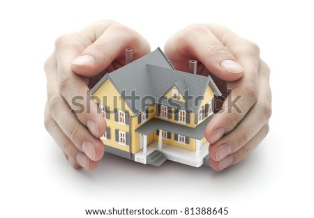 Safe Home - stock photo