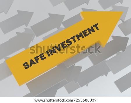 SAFE INVESTMENT - stock photo