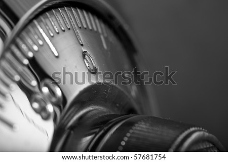 safe lock - stock photo