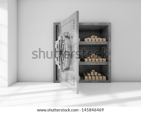Safe room - stock photo