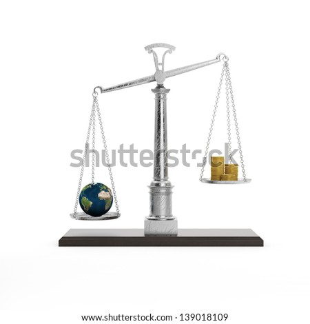 Safe the Earth. Concept of ecology. - stock photo