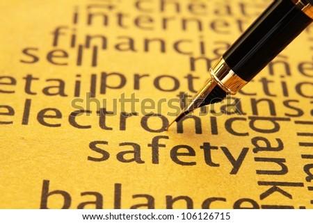 Safety - stock photo