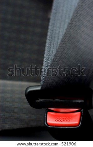 Safety belt - stock photo