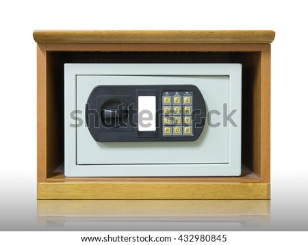 Safety box with electronic lock