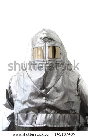 safety clothes (fireman, x-ray, etc... ) - stock photo