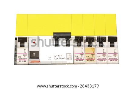 safety device - stock photo