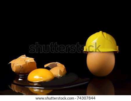 Safety first concept - stock photo