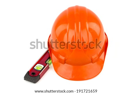 Safety Helmet and bubble level