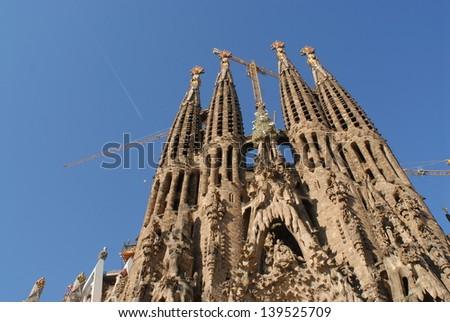 Sagrada Familia - stock photo