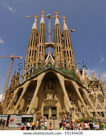 Sagrada Familia Gaudis Most Famous And Uncompleted Church In Barcelona