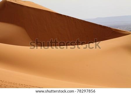 Sahara Desert Morocco - stock photo
