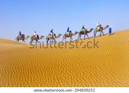 Sahara trip  - stock photo