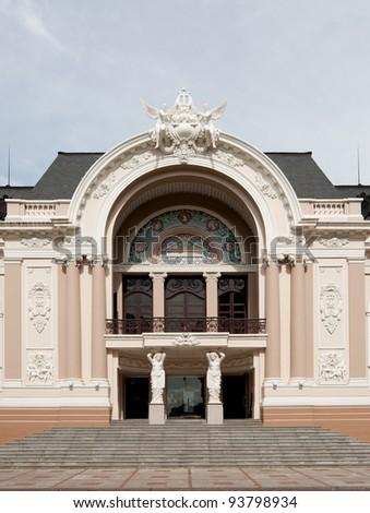 Saigon Opera House - stock photo