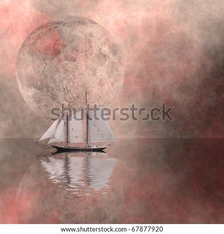 Sail - stock photo