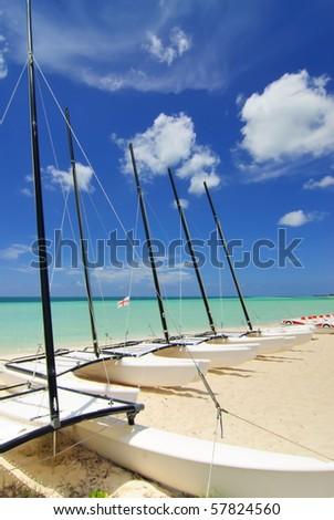 Sail boats - stock photo