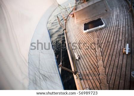 Sailing! - stock photo