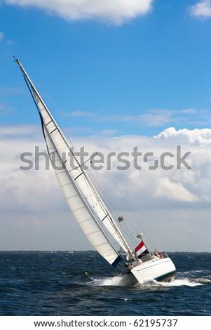 Sailing - stock photo
