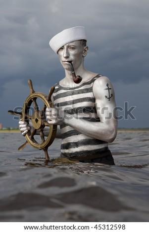 Sailor - stock photo