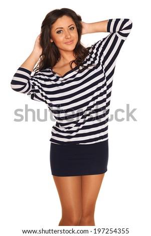 Sailor girl - stock photo