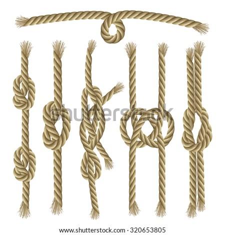 decorative rope knots - photo #49