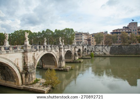 Saint Angelo Castle, Rome Italy