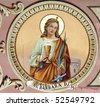 Saint Barbara - stock photo
