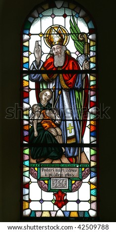 Saint Blaise - stock photo