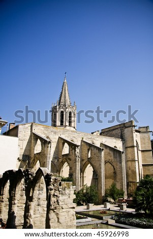 Saint Didier church in Avignon, Provence, France