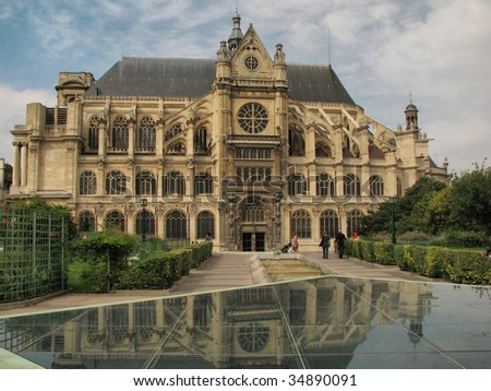 Saint Eustache Church - Paris