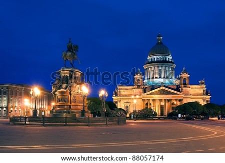 Saint Isaac's Cathedral - stock photo