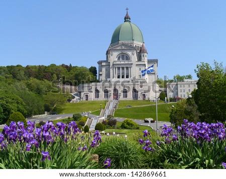 Saint Joseph's Oratory Basilica, Montreal - stock photo