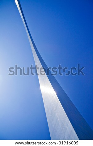 Saint Louis Arch, Outdoor - stock photo