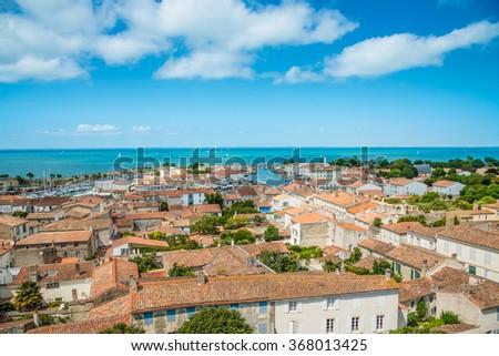 Saint Martin de Re, Ile de Re, Island Re, France - stock photo