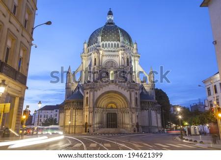 Saint Mary Church in Brussels, Belgium - stock photo