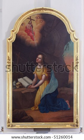 Saint Mary Magdalene - stock photo