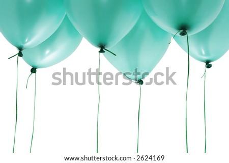 saint patrick day balloons - stock photo