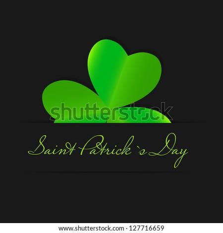 Saint Patrick`s day background Raster version illustration - stock ...
