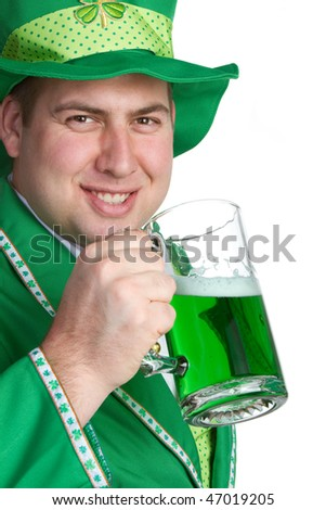 Saint Patricks Day Man