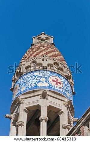 Saint Pau hospital located at Barcelona, Spain - stock photo