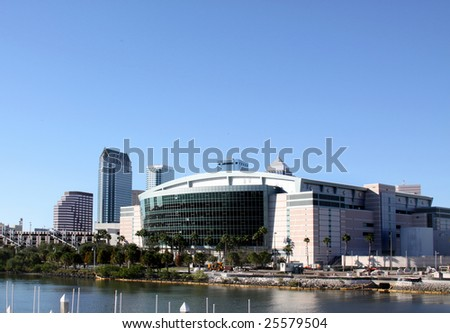 Saint Pete Times Forum Stadium in Tampa, Florida USA