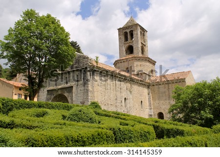 Saint Peter Monastery. In the small town of Camprodon, located in the Pyrenees. Catalonia