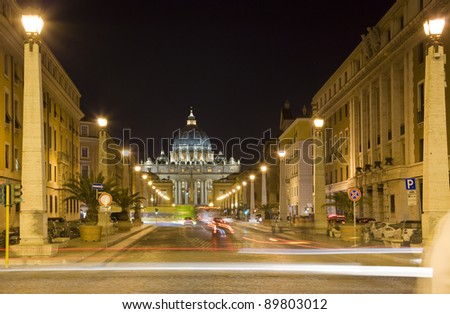 saint peter vatican rome - stock photo