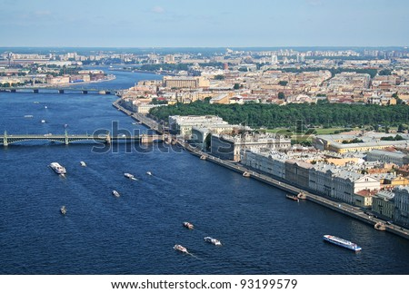 Saint-Petersburg - stock photo