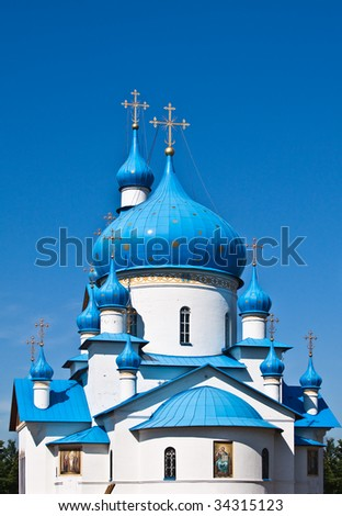 Saint-Petersburg church in Russian Federation - stock photo