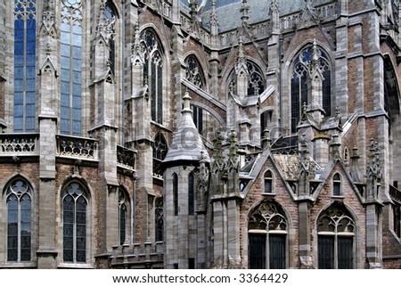Saint Petrus and Paulus church in Ostend, Belgium. - stock photo