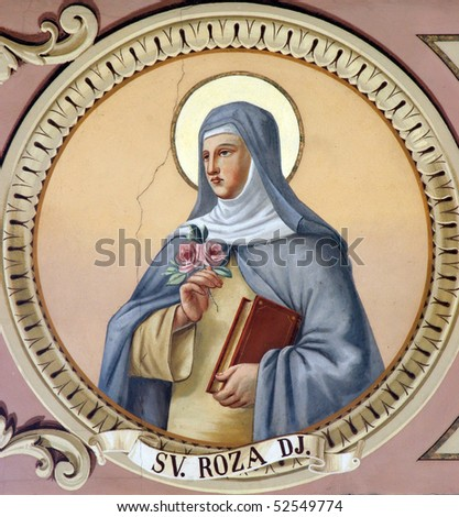 Saint Rosalia - stock photo